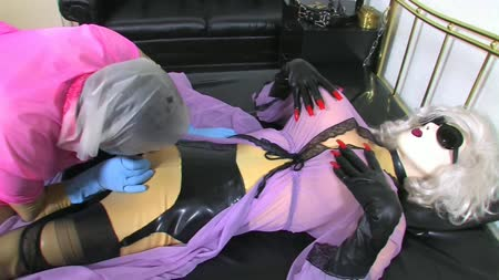 Pervy Nylon Mistress Leila Part 2 Of 2