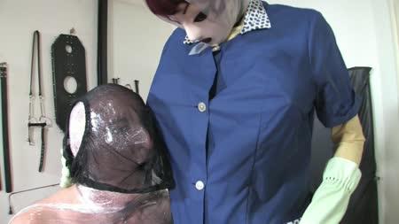 Spoily Nylon Smock Mistress Leila Part 2 Of 2