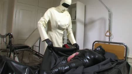 Strict Rubber Doctor Leila Part 1 Of 4