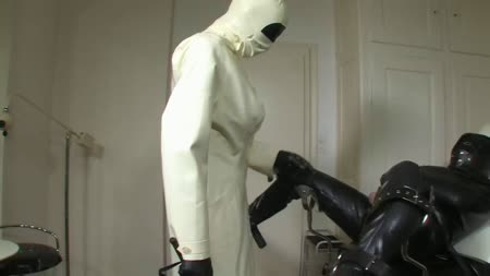 Strict Rubber Doctor Leila Part 3 Of 4